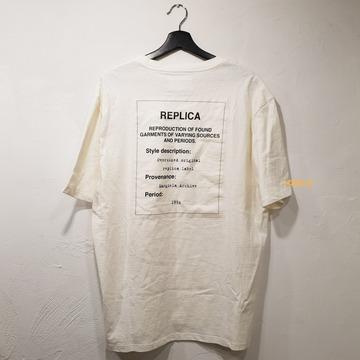 17SS 마르틴 마르지엘라 레플리카 티셔츠 화이트