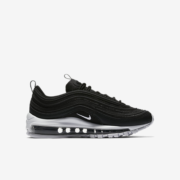 GS)나이키 에어 맥스97 키즈 화이트,블랙,네이비 Nike