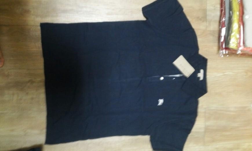 79a66d88a70 버버리 단추 체크 티셔츠 Burberry