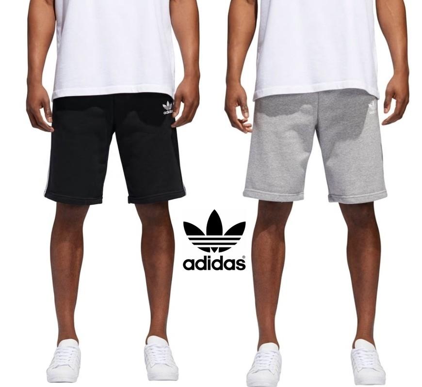 e6077aa948e [유럽판] 아디다스 삼선 트레이닝복 남자 반바지(2색상) 숏팬츠 Adidas